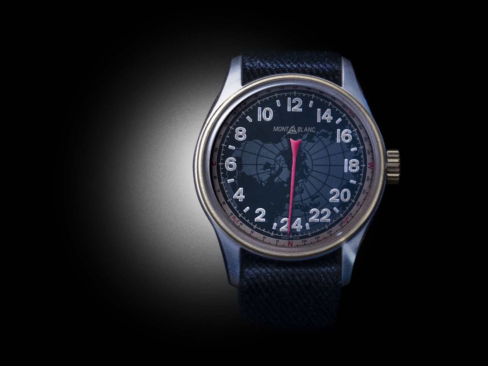 The Montblanc 1858 24 Hours - www.revolution.watch