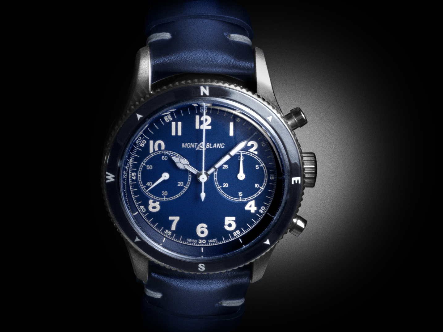 The Montblanc 1858 Chronograph - www.revolution.watch