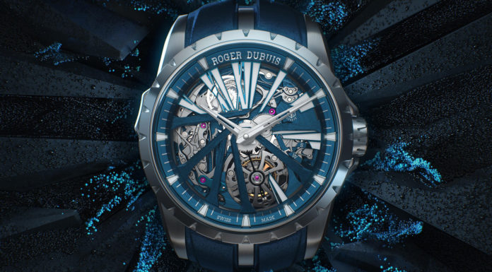 The Roger Dubuis Excalibur Diabolus in Machina Flying Tourbillon Minute Repeater in CarTech Micro-Melt BioDur CCM.