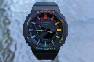 All the Colours of the Casioak – The Dial Artist on Creating Custom Rainbows