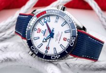 Omega Seamaster Planet Ocean 600M 36th America's Cup Limited Edition