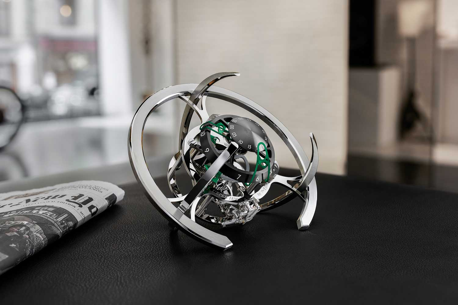 MB&F + L'Epee 1839 Starfleet Explorer with green accents