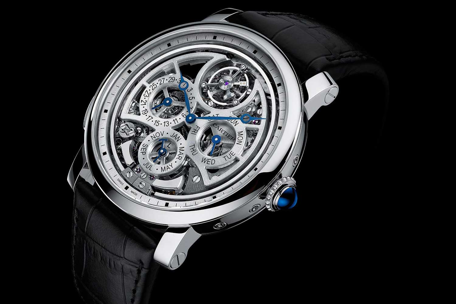The original Rotonde de Cartier Grande Complication Skeleton, presented in SIHH 2015.