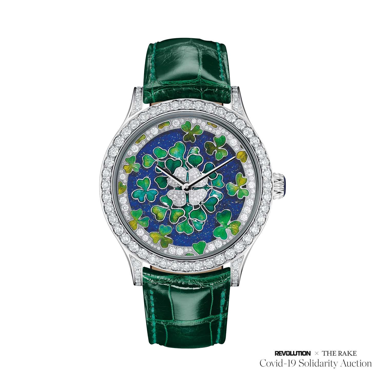 Van Cleef & Arpels Midnight Palais de la chance Trèfles Decor for Revolution x The Rake Covid-19 Solidarity Auction
