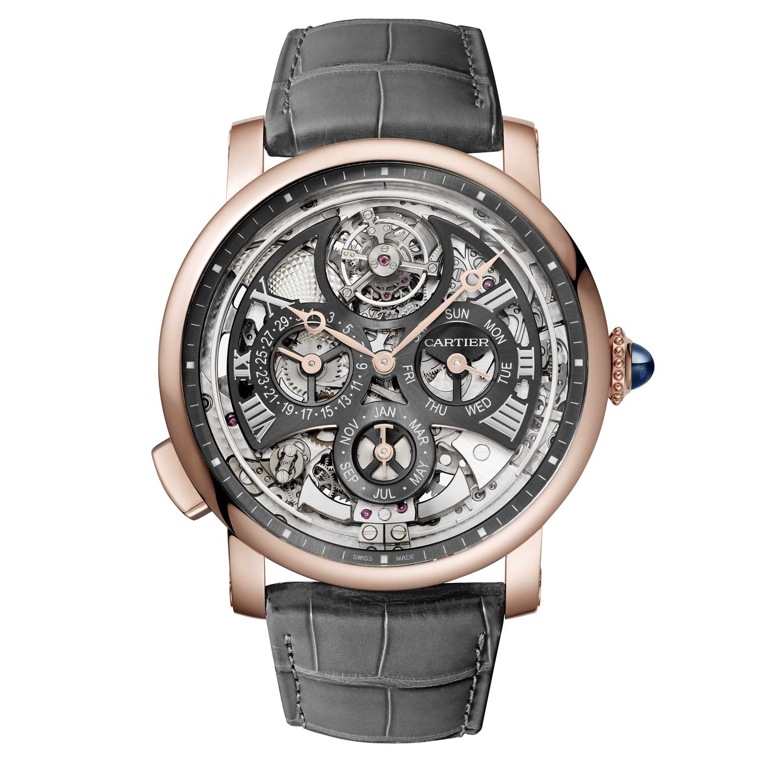 Rotonde de Cartier Grande Complication Skeleton