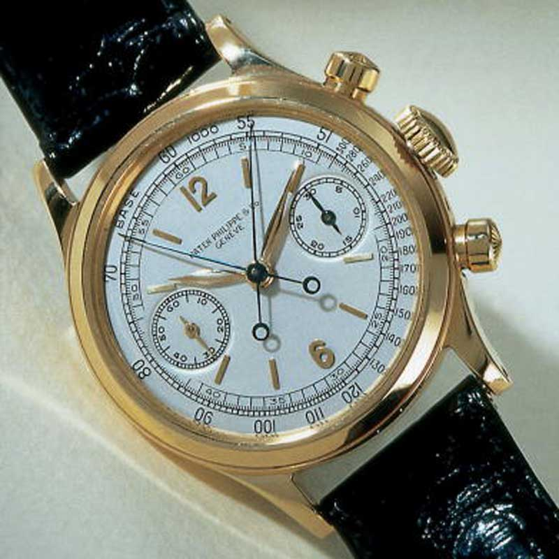 The Auction House Phillips De Pury & Luxembourg Auctioned Off A Rare Patek Philippe 1563 Wristwatch That Once Belonged To Musician Duke Ellington For $1,593,396 May 13, 2002 At The Hotel De Brgues In Geneva, Switzerland. Ellington Purchased The Watch In Geneva In 1948. (Photo By Getty Images)