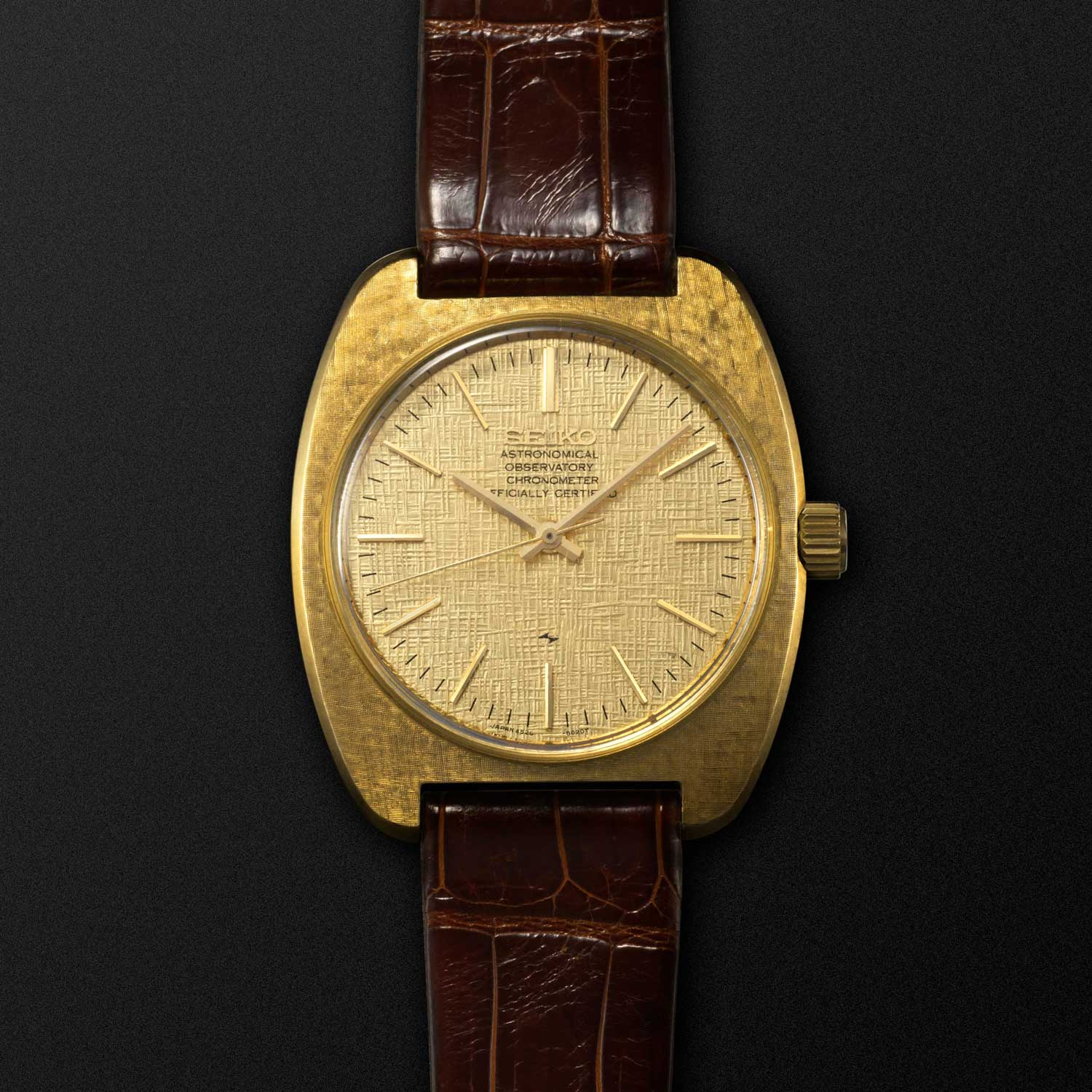 The 1969 Astronomical Observatory Chronometer fitted with the cal. 4520 (Image: Grand Seiko)