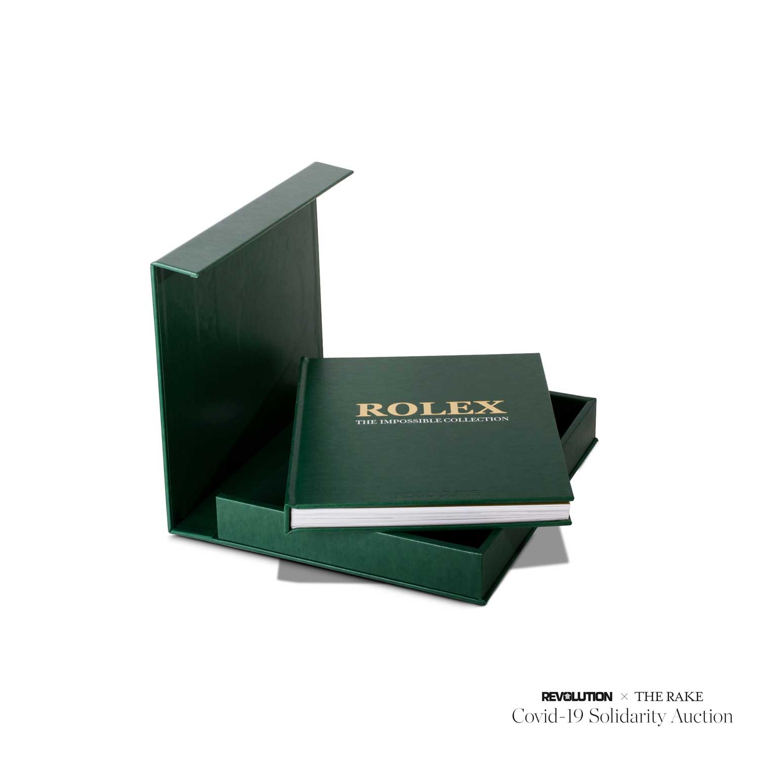 Rolex: The Impossible Collection signed by Prosper Assouline for Revolution x The Rake Covid-19 Solidarity Auction