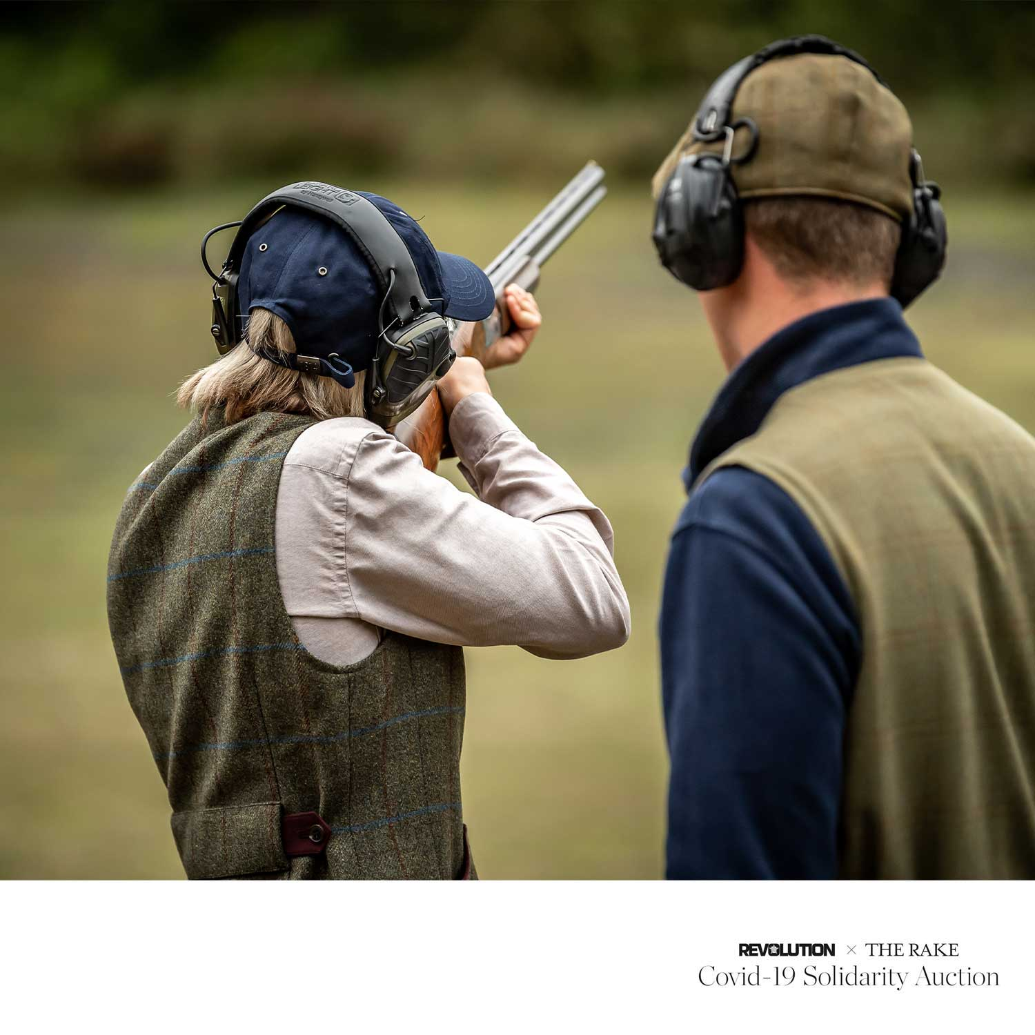 The Royal Berkshire Shooting School Shooting Experience for Revolution x The Rake Covid-19 Solidarity Auction