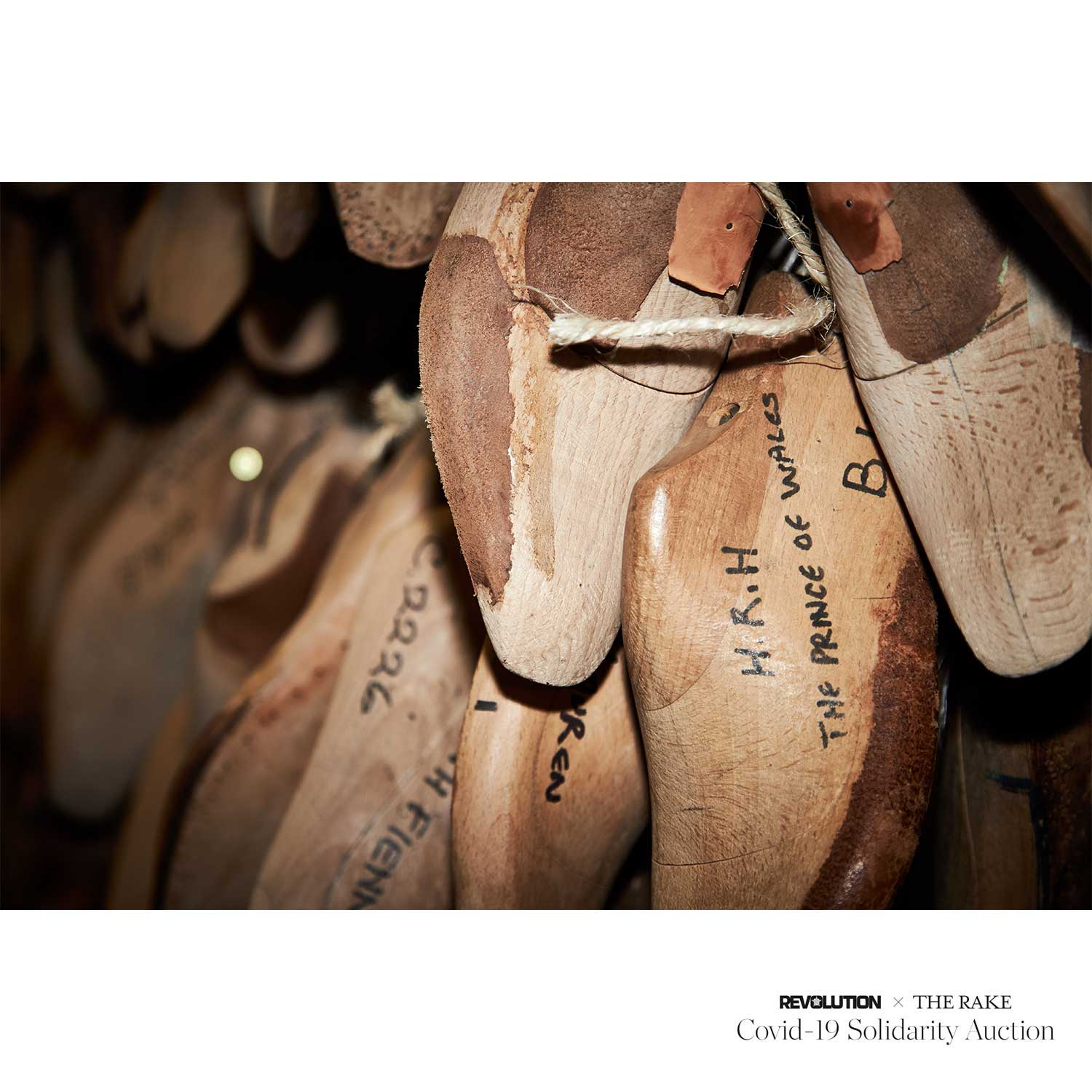 George Cleverley Bespoke Shoes for Revolution x The Rake Covid-19 Solidarity Auction
