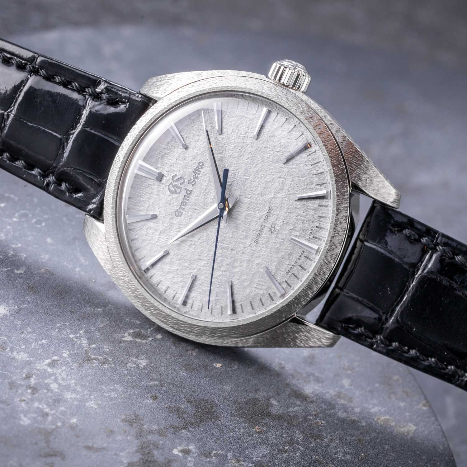 The 2019 Grand Seiko 20th Anniversary Of Spring Drive, in platinum - limited to 30 pieces - ref. SBGZ001 (Image © Revolution)