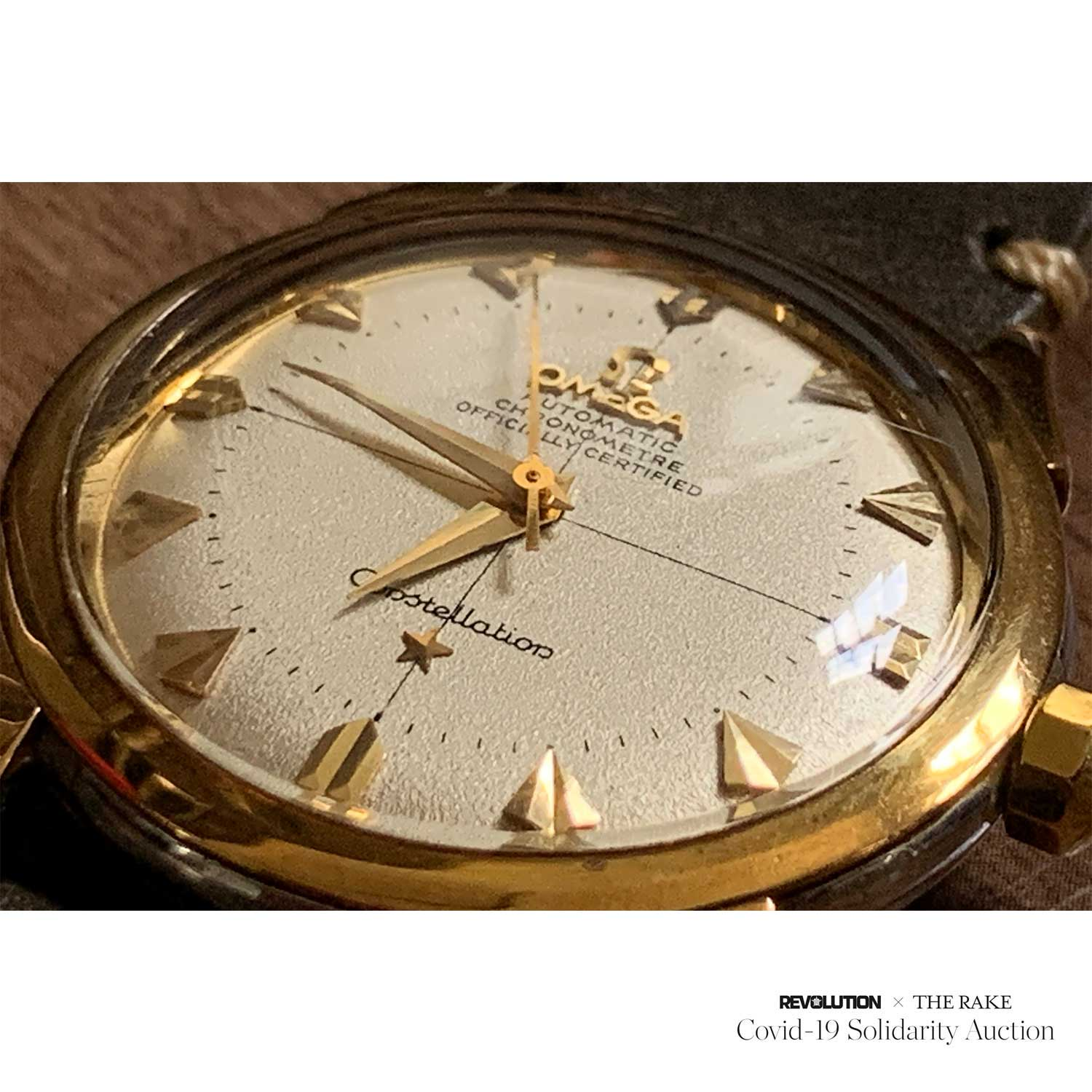 1954 Omega Constellation ref. 2782-6SC, Jose R. Bueiz Girona's personal timepiece donated to the Revolution x The Rake Covid-19 Solidarity Auction