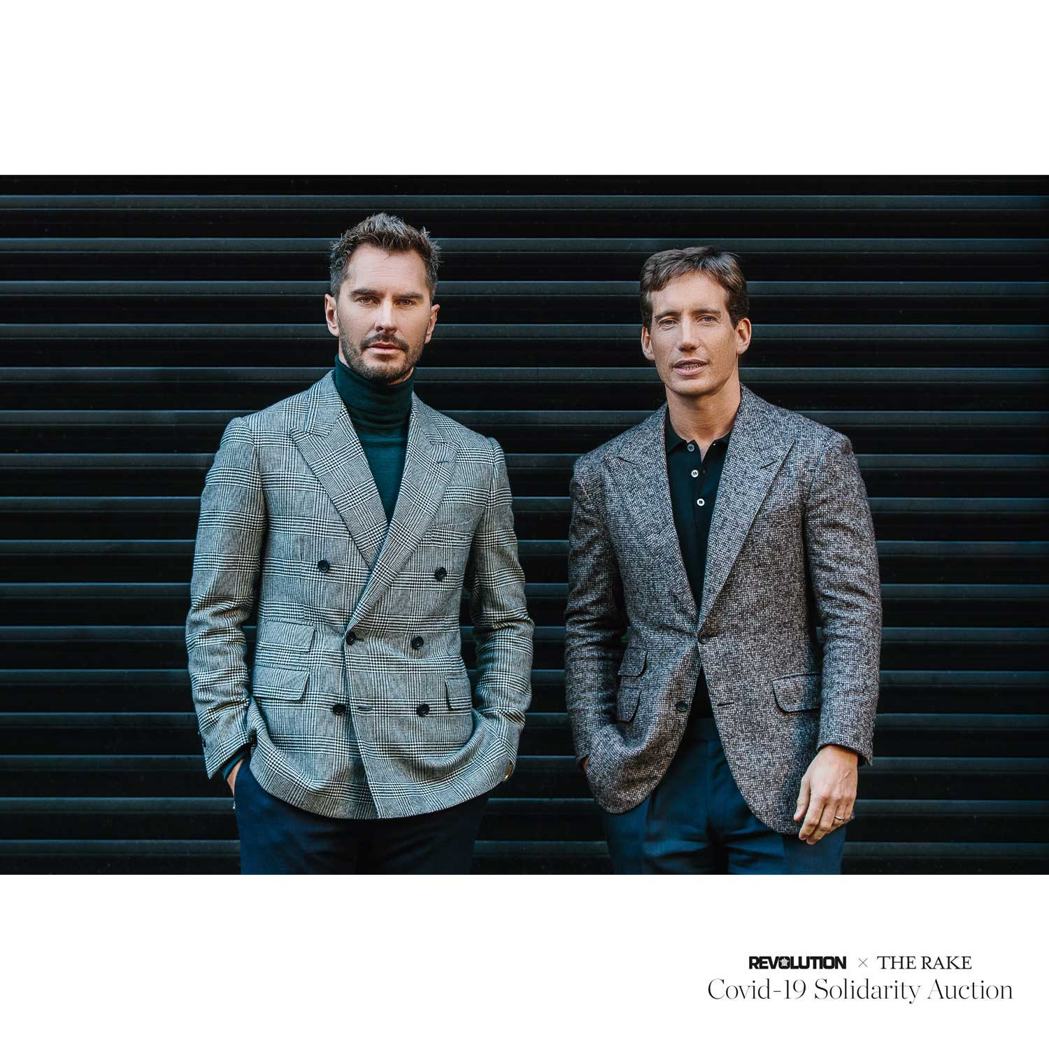 Bespoke suit experience with Thom Sweeney for Revolution x The Rake Covid-19 Solidarity Auction