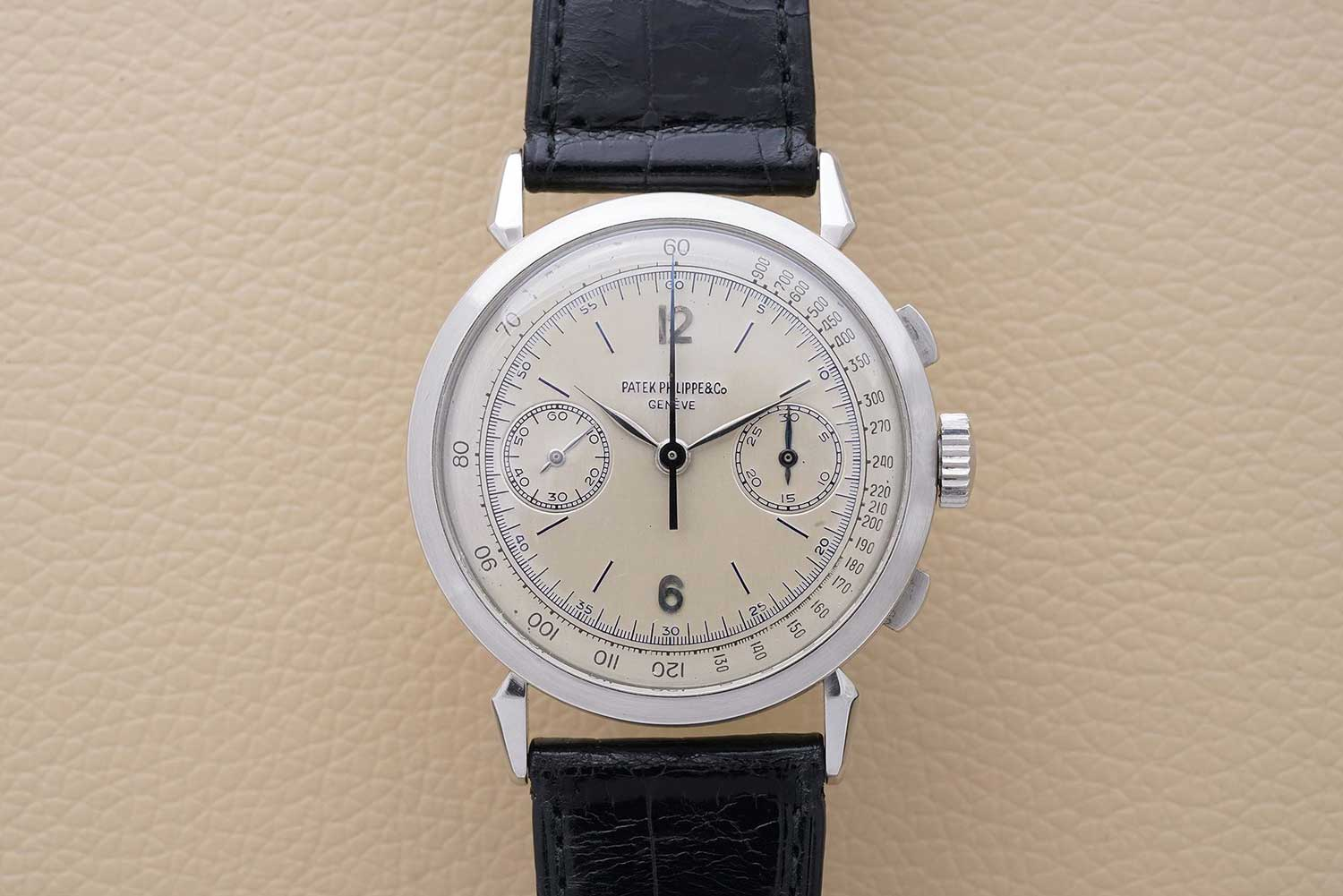 Jean-Claude Biver's platinum 1579, due to be sold with Phillips Watches (Image: PhillipsWatches.com)