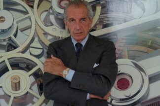 Author and esteemed watch collector, Auro Montanari, better known to the world as John Goldberger (Image: John Goldberger)