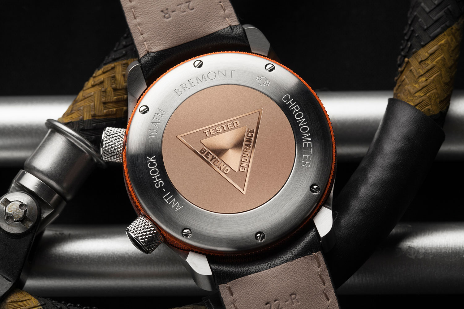 New closed caseback on Bremont's updated 2020 MBII