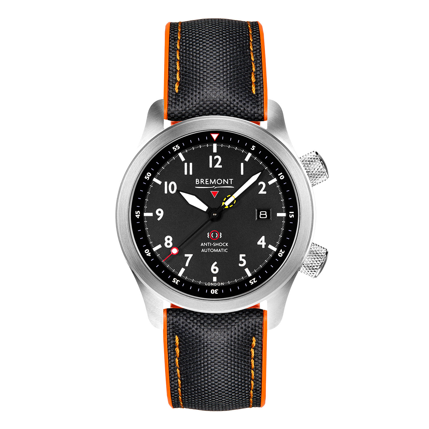 Bremont's updated 2020 MBII in the black dial variation