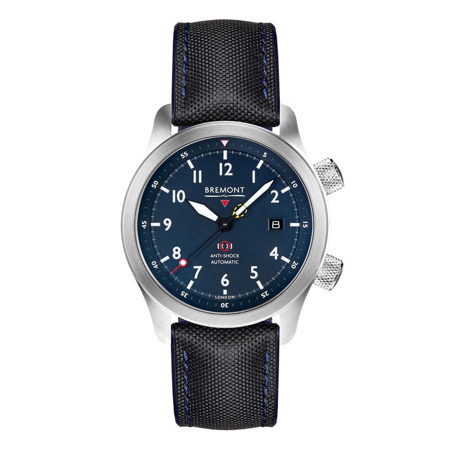 Bremont's updated 2020 MBII in the blue dial variation
