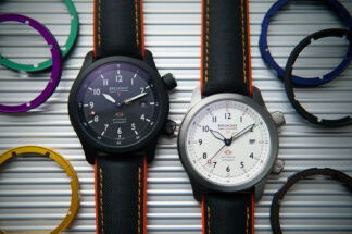 Bremont's updated 2020 MBII in the black and white dial variations