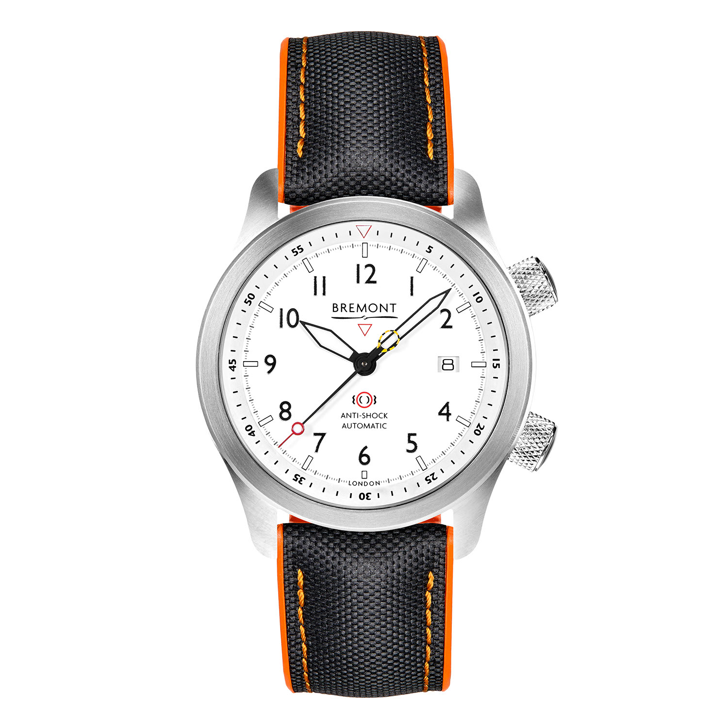 Bremont's updated 2020 MBII in the white dial variation