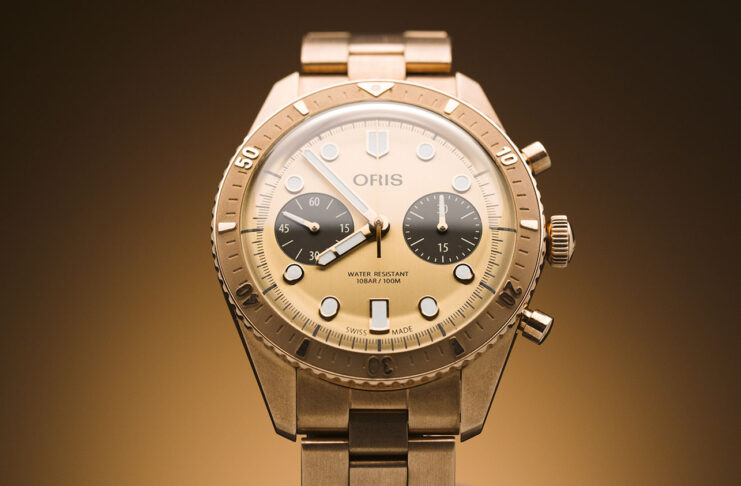 The Oris Hölstein Edition 2020 in all bronze