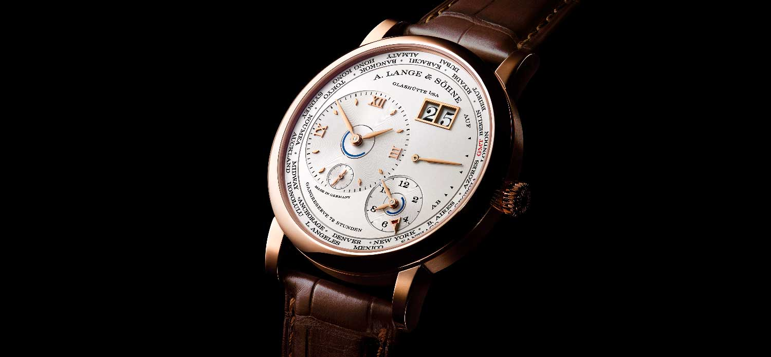 The 2020 Lange 1 Time Zone in pink gold, powered by the new calibre L141.1