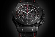 """Hublot Classic Fusion Aerofusion Chronograph """"Watches of Switzerland Group"""" Special Edition"""