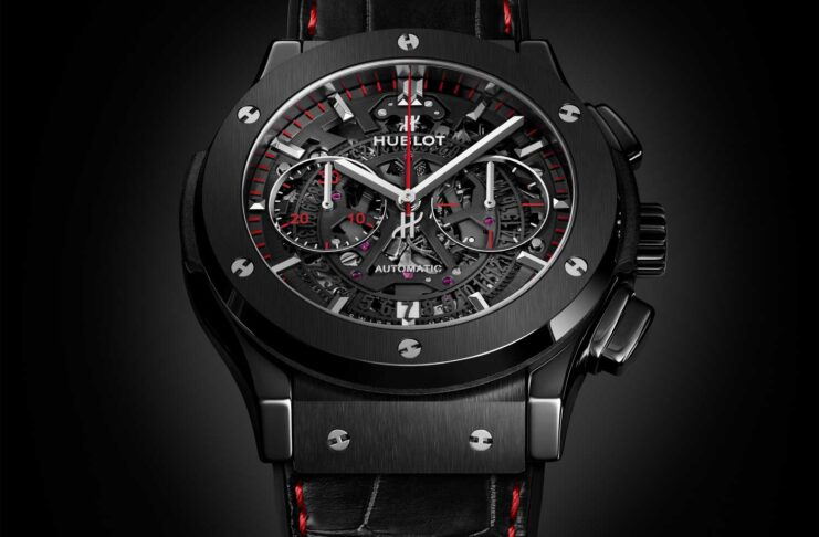"Hublot Classic Fusion Aerofusion Chronograph ""Watches of Switzerland Group"" Special Edition"