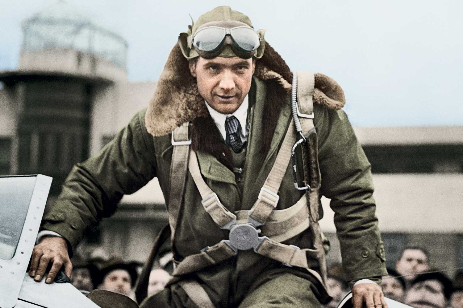 Howard Hughes' around-the-world flight was timed by multiple Longines inventions back in 1938.