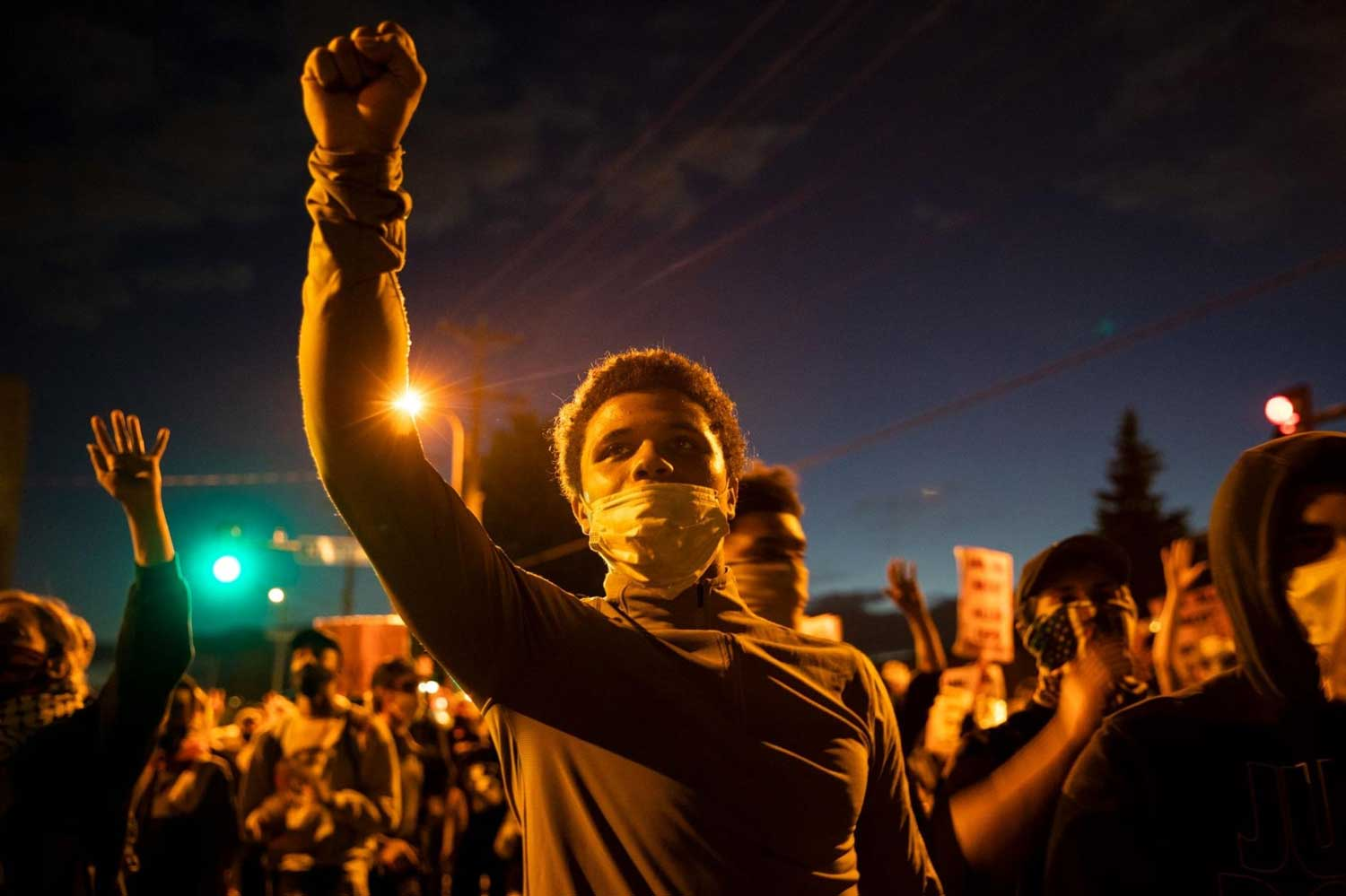 nationalgeographic.com: On Friday, May 29, protesters congregated outside a police station in Minneapolis to demand justice for George Floyd, an African-American man who died after a police officer knelt on his neck down during an arrest. (Source: nationalgeographic.com)