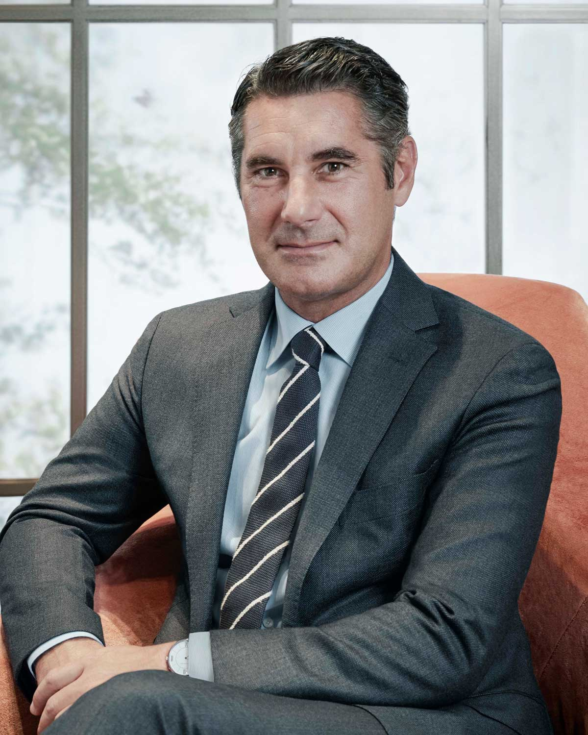 Hugues de Pins the managing director of Van Cleef & Arpels for South East Asia and Australia