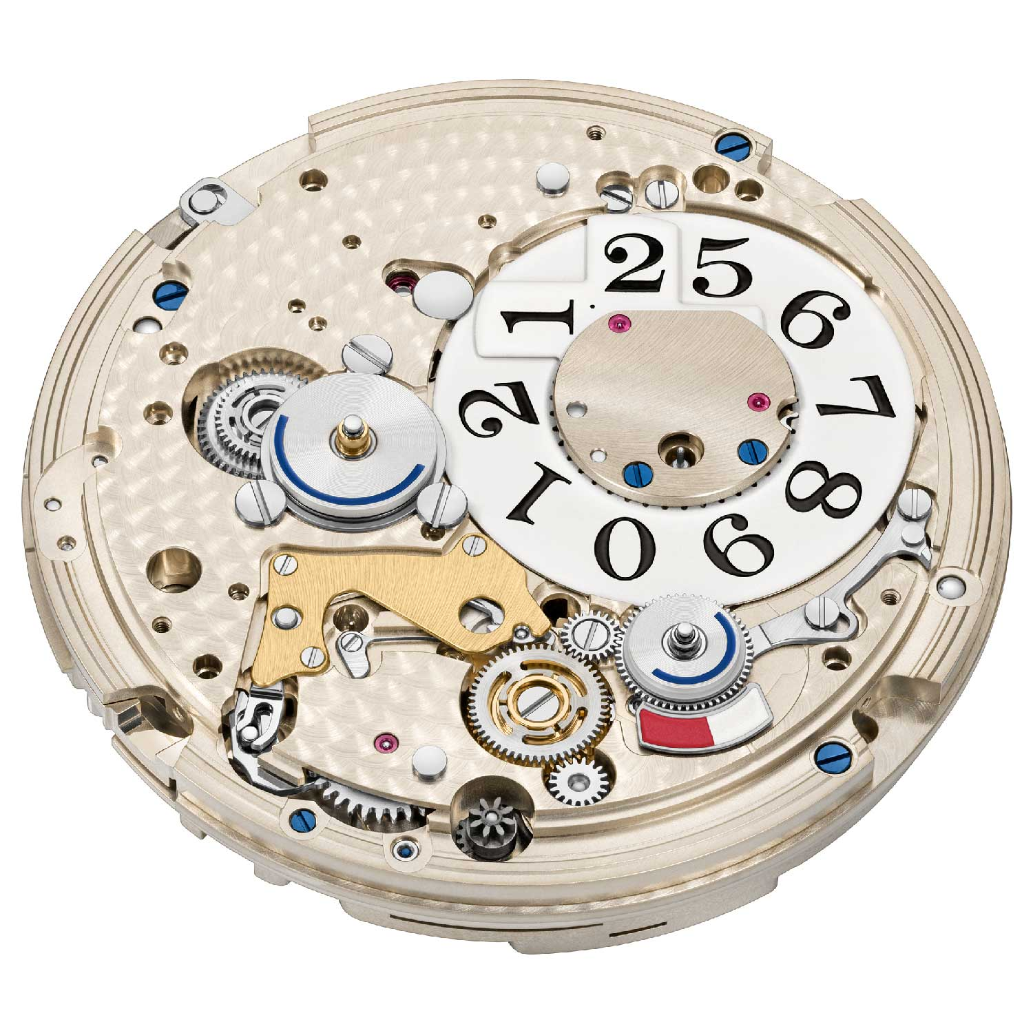 Dial side view of the new calibre L141.1