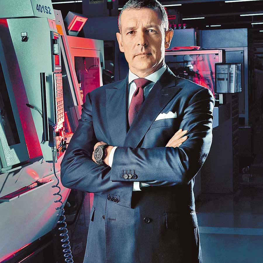 CEO of Roger Dubuis, Nicola Andreatta