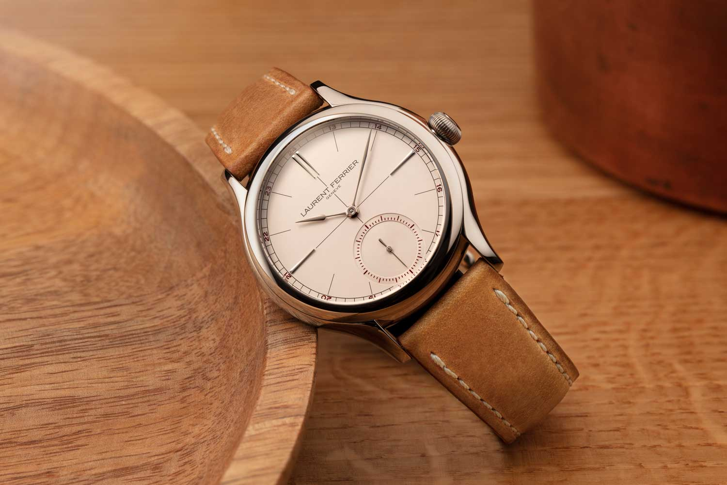 Laurent Ferrier Classic Origin Opaline in Grade 5 Titanium