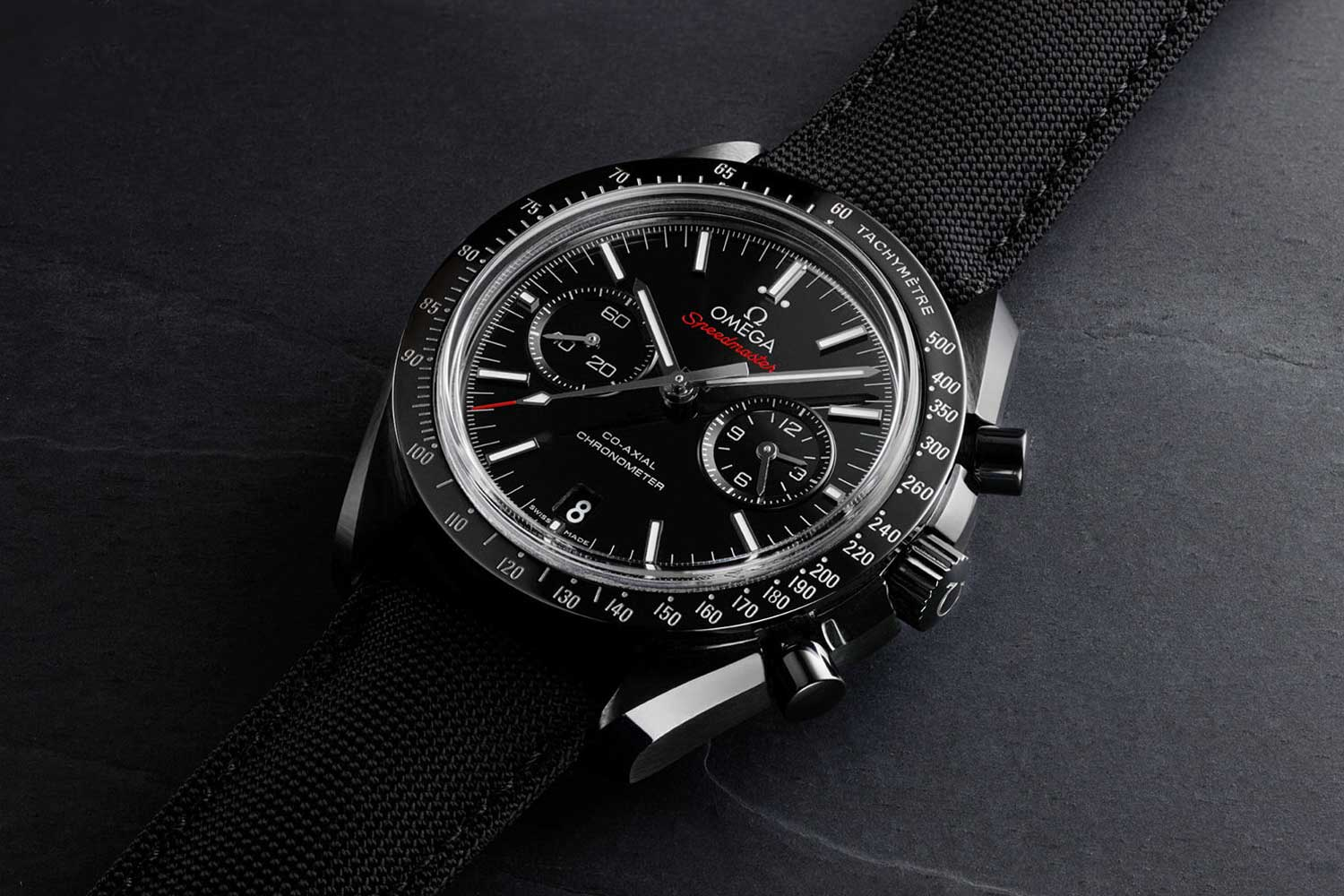 """The 2013 """"Dark Side of the Moon"""" was the first Speedmaster in ceramic (ref. 311.92.44.51.01.003)"""