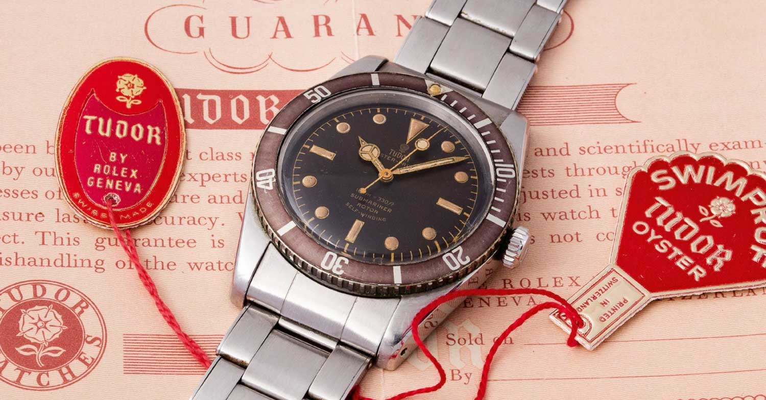 A Tudor 7922 full-set offered by Phillips Watches during their GWA: III (Image: Phillips Watches)