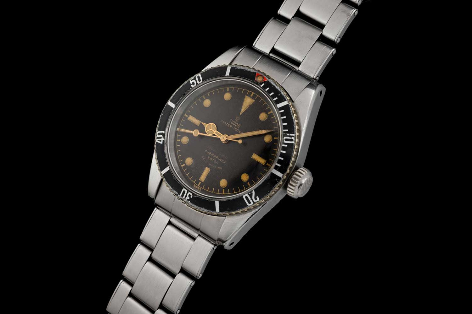 A tropical brown 7924 with correct early bezel insert