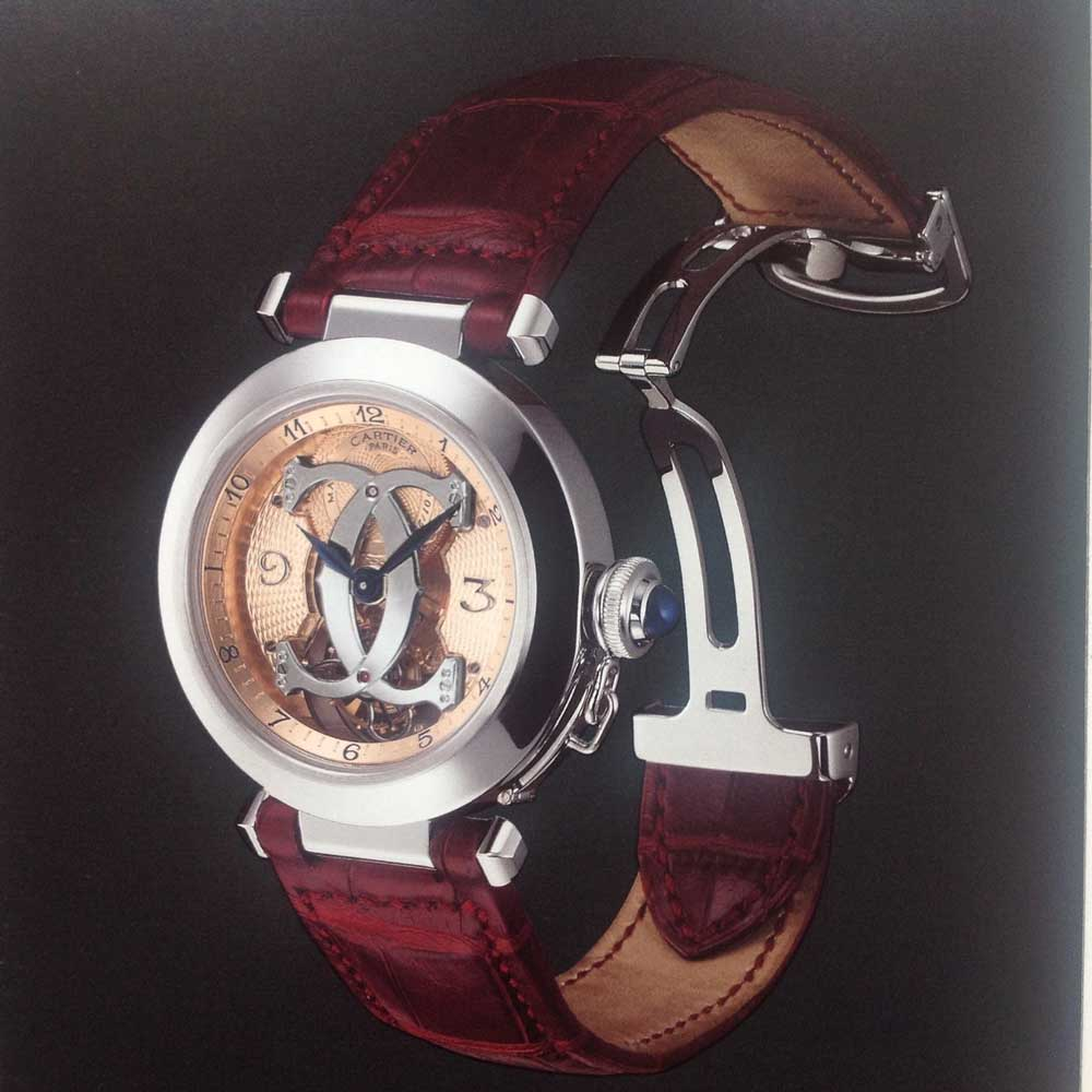 The last version of the Cartier Pasha CPCP Tourbillon released in 2001 (Image: Watchprosite)