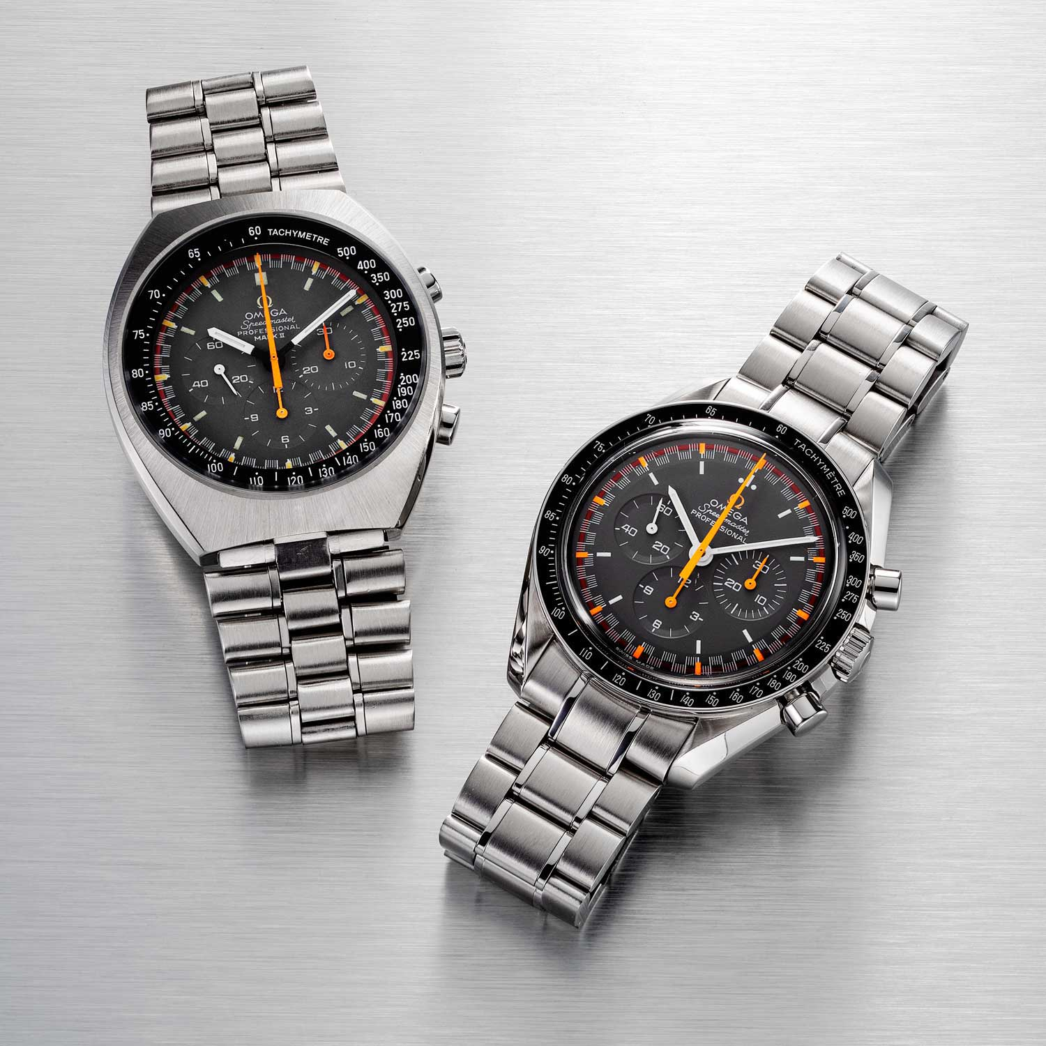The Omega Speedmaster Mark II and the Limited-Edition Japan Racing Dial (Image: ©Revolution)