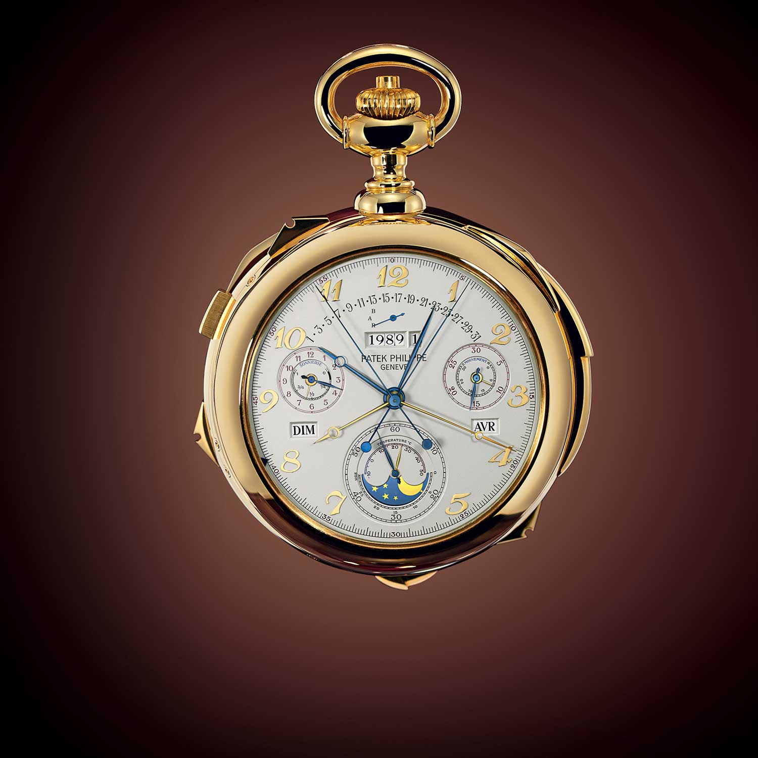 The incredible Calibre 89 pocket watch presented by Patek Philippe in 1989 on the occasion of its 150th anniversary