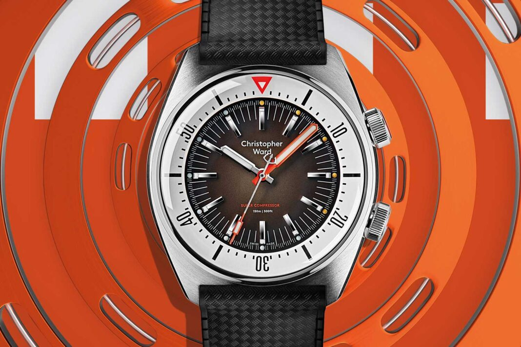 Christopher Ward's new C65 is a super compressor dive watch based on a 1950s patent
