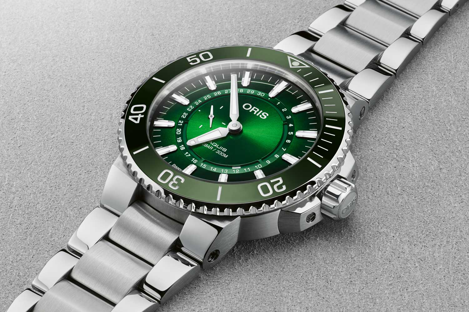 The Oris Hangang Limited Edition. A new limited edition diver's watch supporting a Seoul-based project to clean up South Korea's mighty Hangang River.