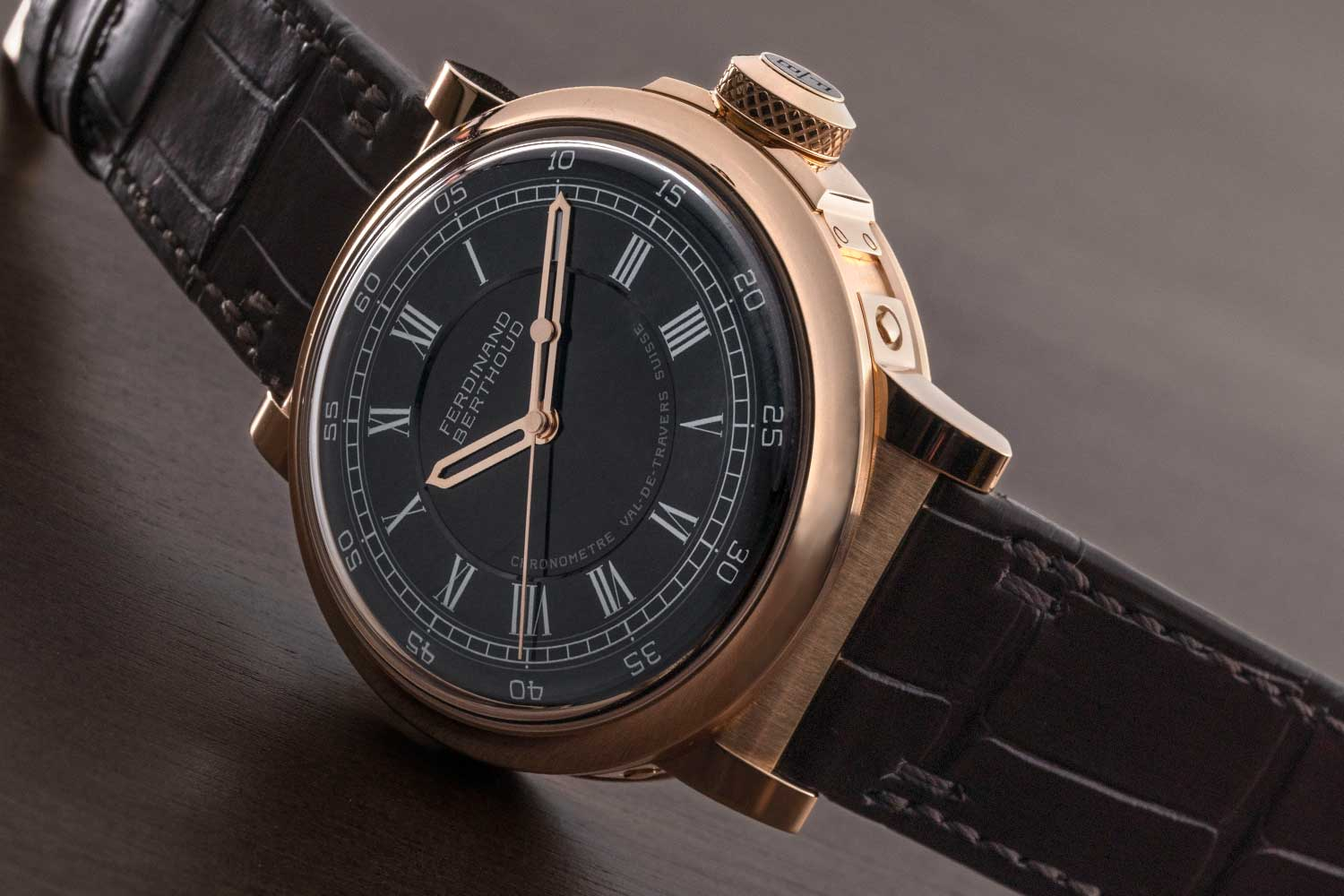 Ferdinand Berthoud Chronomètre FB 2RE in rose gold ref. FB 2RE.2 (©Revolution)