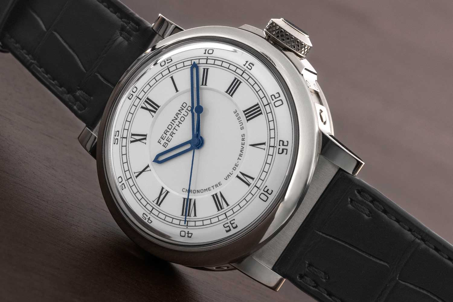 Ferdinand Berthoud Chronomètre FB 2RE in white gold ref. FB 2RE.1 (©Revolution)