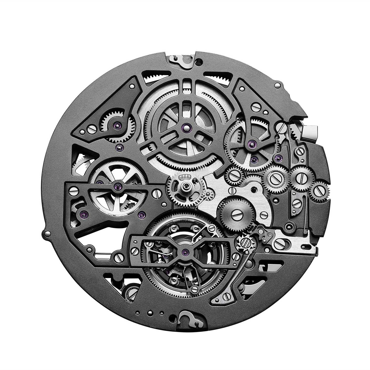 The dial side view of the 3.5mm BVL388 calibre