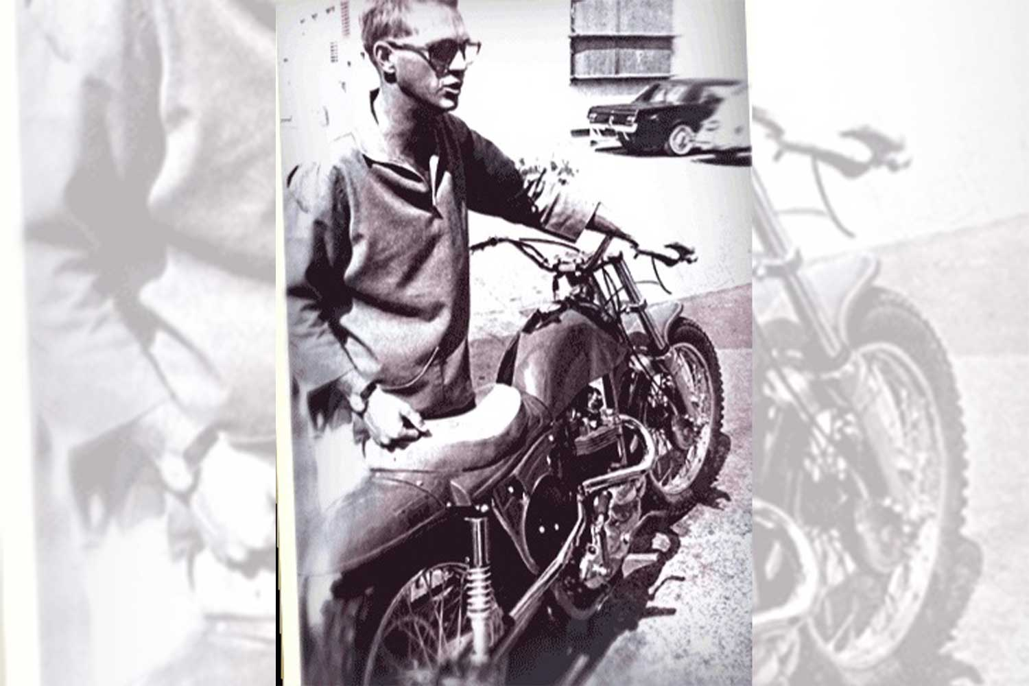 Steve McQueen commented in 1966 that the Metisse Mk3 he owned:' This rig is the best handling bike I've ever owned!'