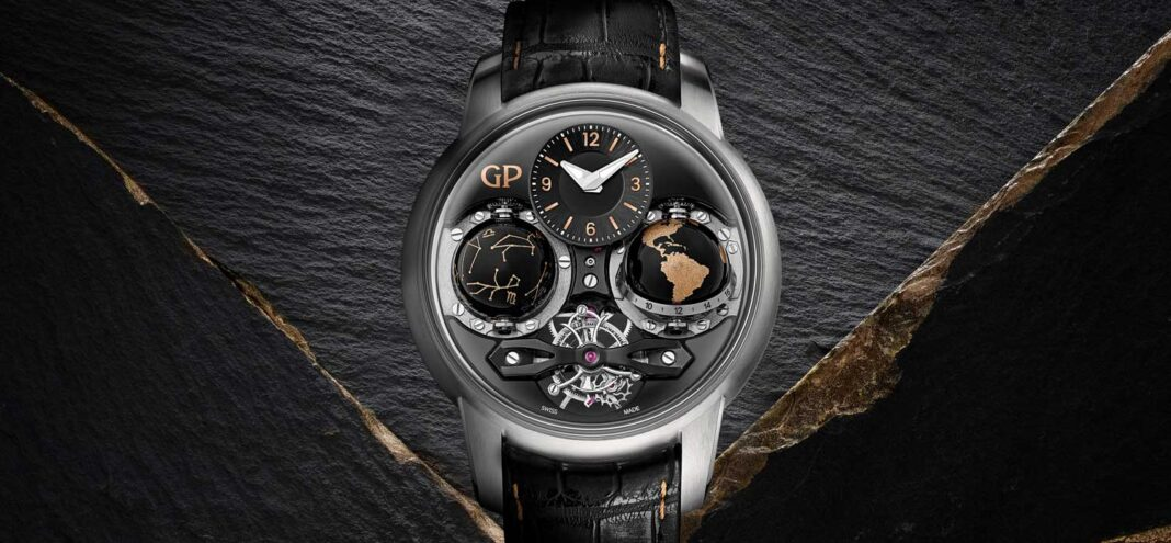 The Girard-Perregaux Cosmos Infinity edition launched at Geneva Watch Days 2020