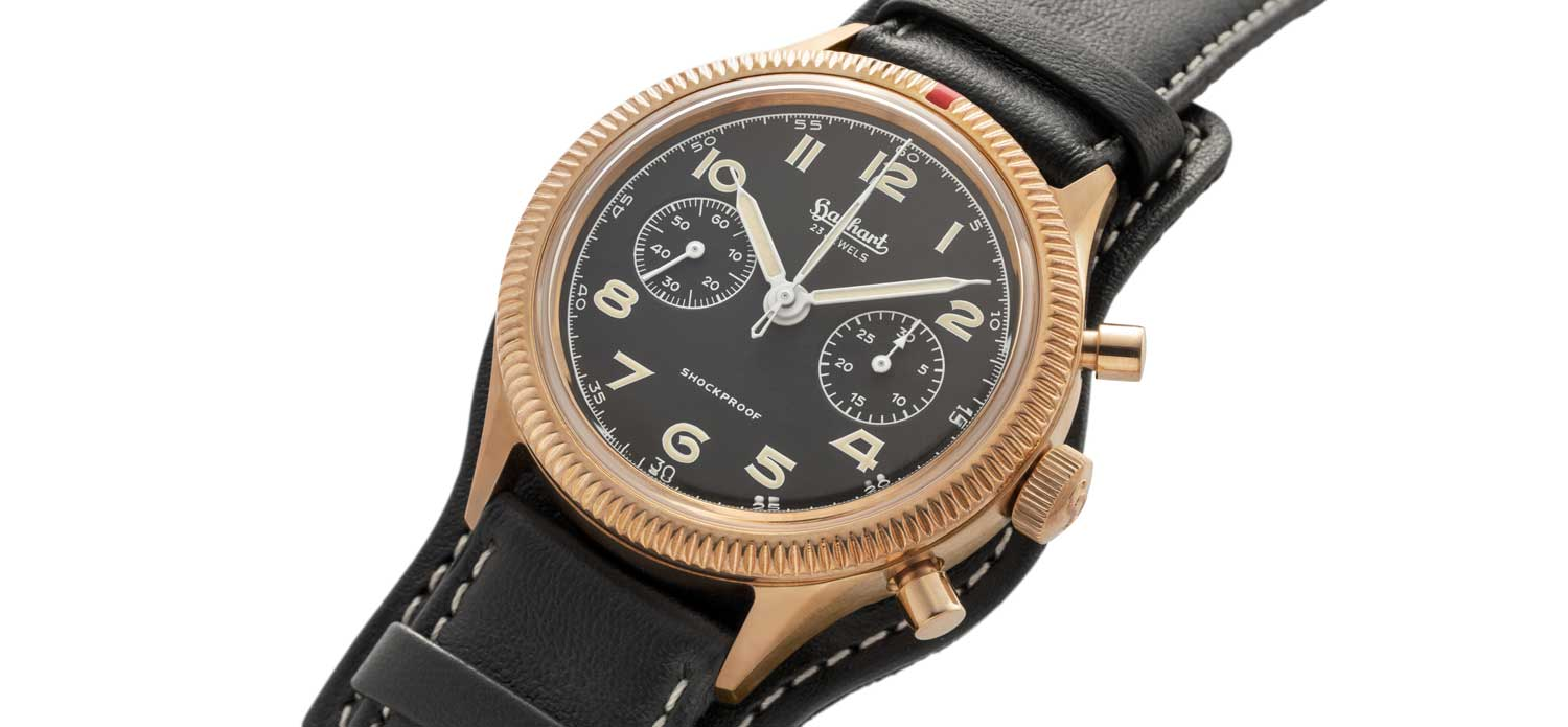 Introducing the Hanhart x The Rake & Revolution Limited Edition Bronze 417 Chronograph - Revolution