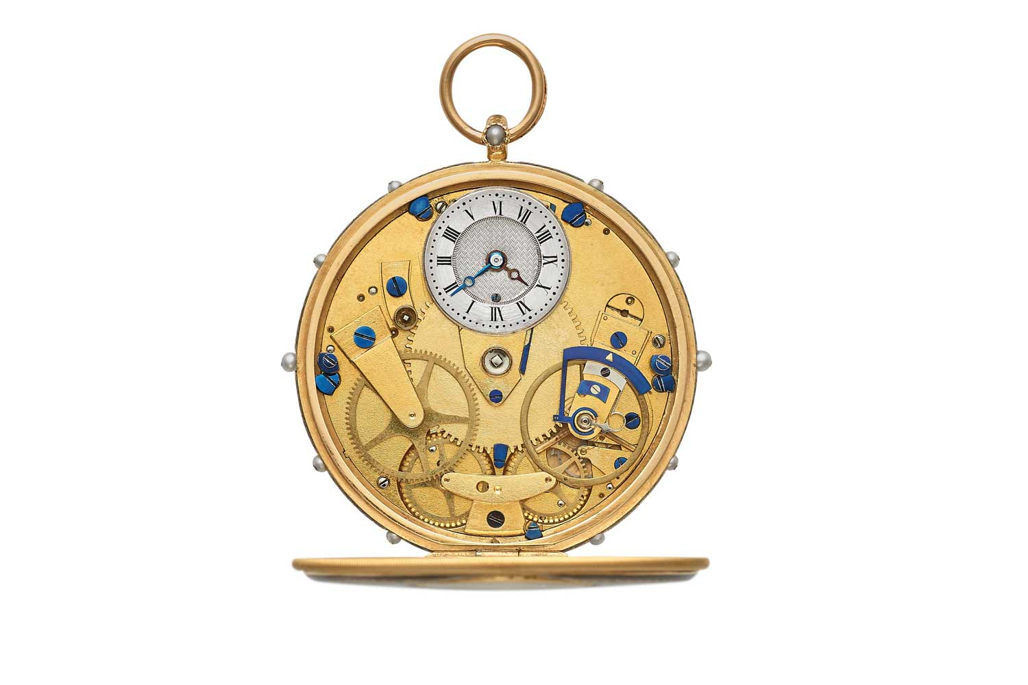 A creation of Abraham-Louis Breguet's. no. 2292, showcasing how his design language still exists and inspires modern day Breguet