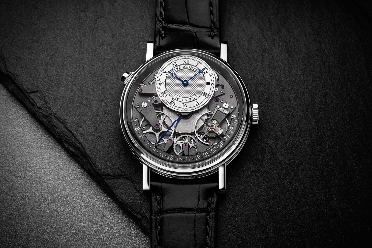 Breguet Tradition Quantième Retrograde 7597 in white gold